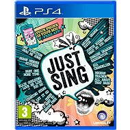Just Sing - PS4 - Console Game