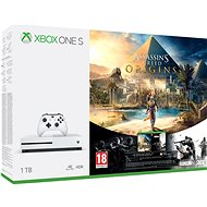 Microsoft Xbox One S 1TB Assassin's Creed: Origins + Rainbox 6: Siege - Game Console