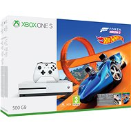 Microsoft Xbox One S 500GB Forza Horizon 3 + Forza Horizon 3 Hot Wheels DLC - Game Console