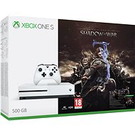 Microsoft Xbox One S 500GB Middle-Earth: Shadow of War - Game Console