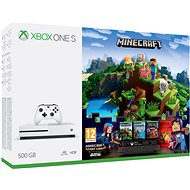 Microsoft Xbox One S 500GB Minecraft + Minecraft Story Mode 2 + 3 months LIVE GOLD - Game Console