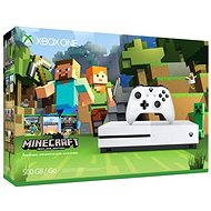Microsoft Xbox One S 500GB Minecraft Edition - Game Console