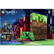 Xbox One S 1TB Minecraft Limited Edition - Game Console