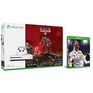 Microsoft Xbox One S 1TB Halo Wars 2 bundle + FIFA 18 - Game Console