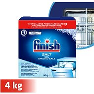 FINISH Salt 4 kg - Dishwasher Salt