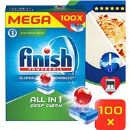 FINISH All-in-One 100 tablets - Dishwasher Tablets