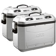 GIVI DLM36APACK2 Dolomiti Trekker Right and Left Case Aluminum (Monokey), Volume 2 x 36L - Motorcycle case