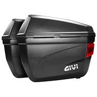 GIVI E22N Black Side Cases Pair Left & Right (Monokey) - Motorcycle case