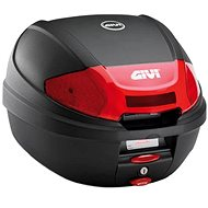 GIVI E300N2 Topcase 30L Black MonoLock with Plate and New Opener Button - Motorcycle case