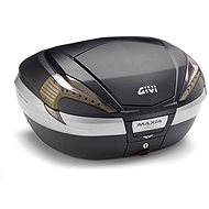 GIVI V56NNT TECH Maxia 4 Topcase 55L Monokey Black Lacquered with See-Through Reflectors - Motorcycle case
