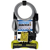 OXFORD Shackle 14 DUO U-Lock (yellow/black, 320x177mm, shackle diameter 14mm) - Accessories
