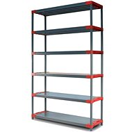 N5K Group Jupiter 1800 x 1200 x 460 mm, gray red - Shelf