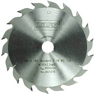 Narex 18WZ Standard, 160mm - Saw Blade for wood