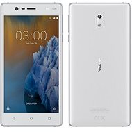 Nokia 3 White Silver - Mobile Phone