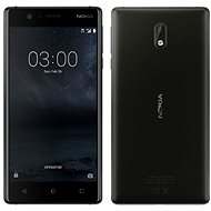 Nokia 3 Matte Black Dual SIM - Mobile Phone