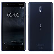 Nokia 3 Tempered Blue Dual SIM - Mobile Phone