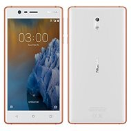 Nokia 3 White Copper Dual SIM - Mobile Phone