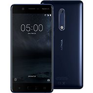 Nokia 5 Tempered Blue Dual SIM - Mobile Phone