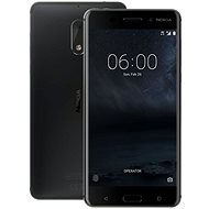 Nokia 6 Matte Black Dual SIM - Mobile Phone