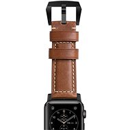 Nomad Horween Leather Strap Traditional Black - Strap