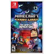 Minecraft Story Mode: The Complete Adventure - Nintendo Switch - Console Game