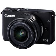 Canon EOS M10 Black + EF-M 15-45 mm F3.5 - 6.3 IS STM - Digital Camera