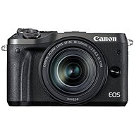 Canon EOS M6 Black + EF-M 18-150mm - Digital Camera