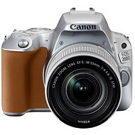Canon EOS 200D silver + 18-55mm IS STM - DSLR Camera