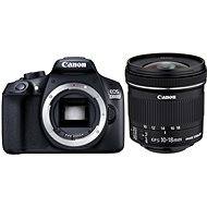 Canon EOS 1300D + 10-18 mm F4.5-5.6 IS STM + EW-73C - DSLR Camera