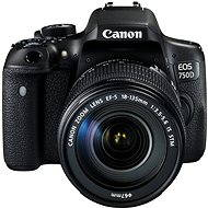 Canon EOS 750D + EF-S 18-135mm IS STM - DSLR Camera