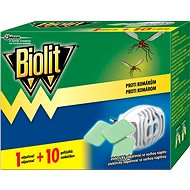 BIOLIT Electric vaporizer with dry filling 1 + 10pcs - Insect Repellent