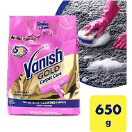 VANISH Powerpowder Shake & Clean, Clean & Fresh Large Area Carpet Cleaner 0.65kg - Stain Remover