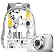 Nikon COOLPIX W100 white backpack kit - Digital Camera