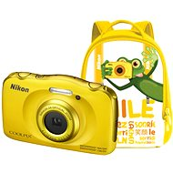Nikon COOLPIX W100 Yellow Backpack Kit - Digital Camera