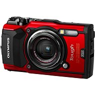 Olympus TOUGH TG-5 Red - Digital Camera