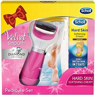 SCHOLL Velvet Smooth Pedicure set pink - Set