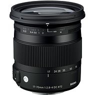 SIGMA 17-70mm F2.8-4 DC MACRO OS HSM for Sony (Contemporary Series) - Lens