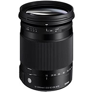 SIGMA 18-300mm F3.5-6.3 DC MACRO HSM for Pentax (Contemporary Series) - Lens