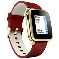 Pebble Time Steel Smartwatch Gold - Smartwatch