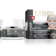 EVELINE COSMETICS FACEMED+ CLEANSING MASK WITH ACTIVE COAL 50 ml - Mask