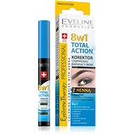 EVELINE COSMETICS Eyebrow Th. Professional Corrector With Henna 8in1 10 ml - Corrector