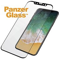 PanzerGlass Premium for Apple iPhone X, black - Tempered glass screen protector
