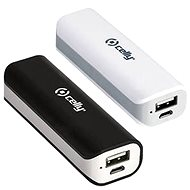 CELLY BIPOWER2200BKWH 2 pcs, black / white - Power Bank