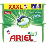 ARIEL Mountain Spring 3-in-1 Washing Tablets 56 Washes - Washing Capsules