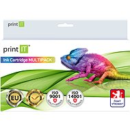 PRINT IT Kit Canon PGI-5BK + CLI-8C / M / Y / Bk - Inkjet Cartridge