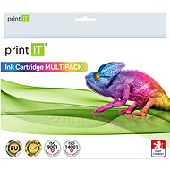 PRINT IT kit Epson T0715 C / M / Y / Bk - Inkjet Cartridge