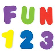Munchkin – The letters and numbers in the tub - Water Toy