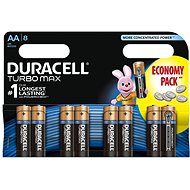 Duracell AA Turbo Max 1500 K8 Duralock 8 pieces - Battery