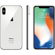 iPhone X 64GB Silver - Mobile Phone