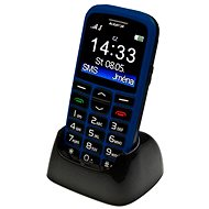 Aligator A680 Senior Blue + Desktop Charger - Mobile Phone